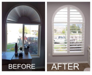 shutters before and after