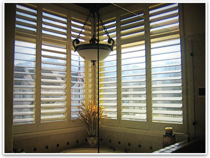 upgrade to plantation shutters