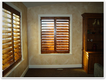 real wood vs faux wood shutters